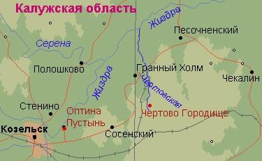 Optina map
