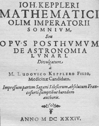 Keplerio Sapnas arba Pomirtinis kūrinys apie Mėnulio astronomiją